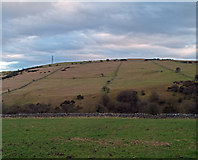SK2274 : Fields across Coombs Dale by Trevor Littlewood