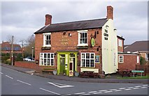 SO8690 : The Green Man (1), High Street, Swindon, Staffs by P L Chadwick