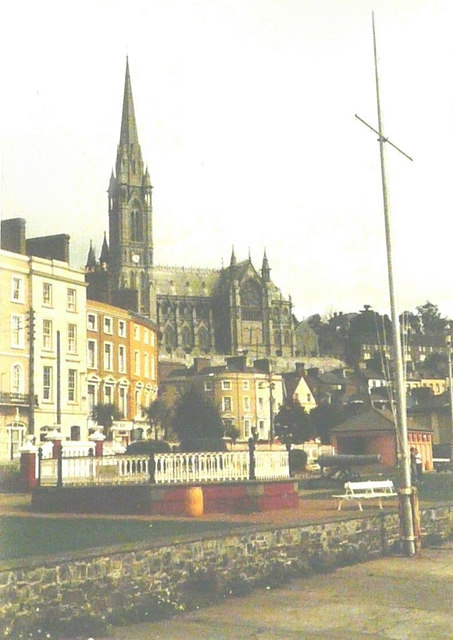 St Colman's Cathedral, Cobh in 1985