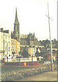 W7966 : St Colman's Cathedral, Cobh in 1985 by John Baker