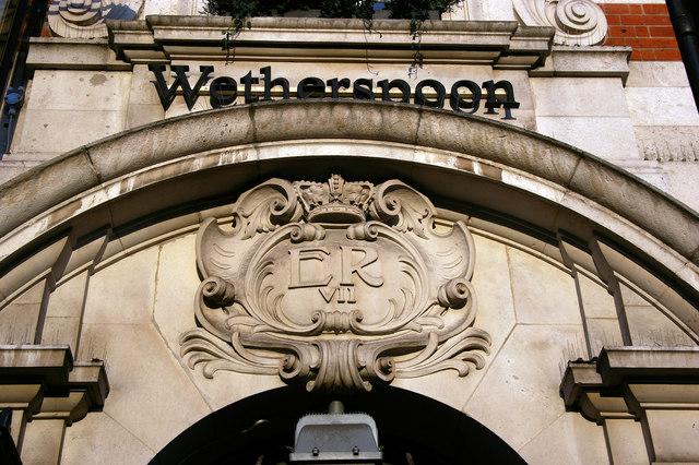 Cartouche, William Webb Ellis public house, Twickenham