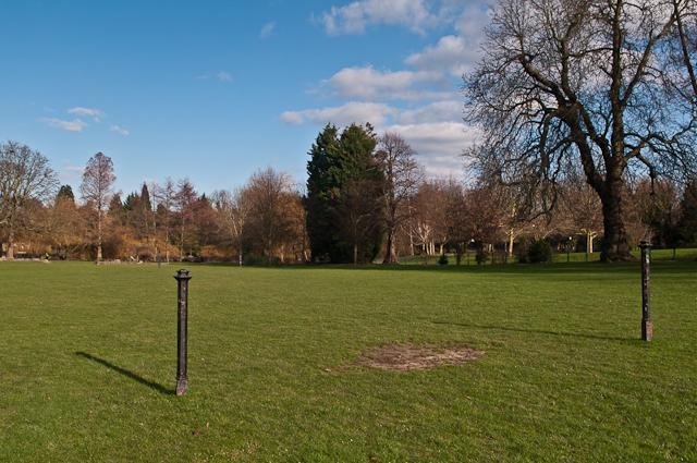 """""""Goalposts"""", Priory Gardens"""