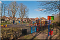 TQ4666 : Playground, Priory Gardens by Ian Capper