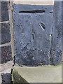 SJ8253 : Bench mark and bolt on St Martin's church by John S Turner