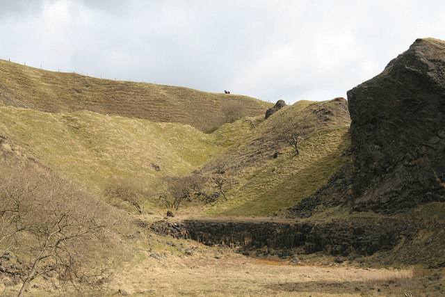 Disused quarry, Calton Hill