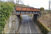 SK1373 : Disused Bridge - Millers Dale by Ashley Dace