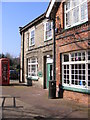 TM4462 : Leiston Public Library by Adrian Cable