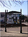 TM4462 : Leiston-Cum-Sizewell Town Notice Board by Adrian Cable