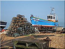 TR3752 : Moss Ross on Deal beach by Oast House Archive
