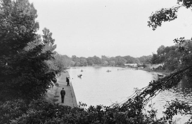 Exhibition Park lake, Newcastle upon Tyne