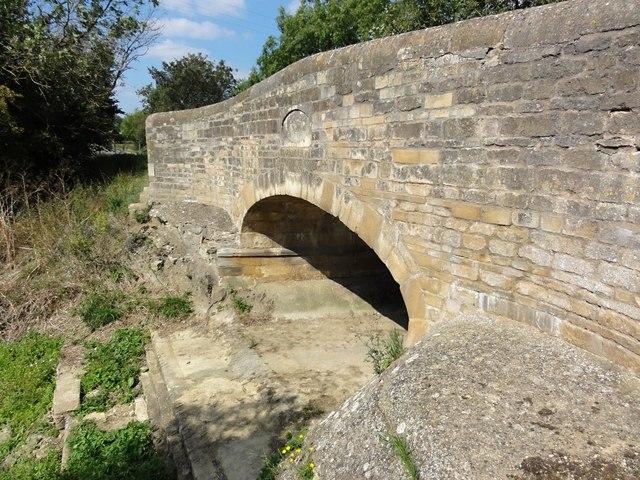 Manthorpe Bridge, The River is Dry