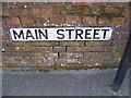 TM4462 : Main Street sign by Adrian Cable