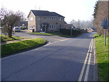 TM3877 : Wissett Road, Halesworth by Adrian Cable
