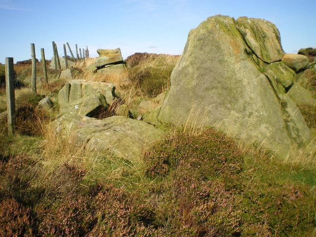 Millstone Grit - White Crag - Bowland Fells