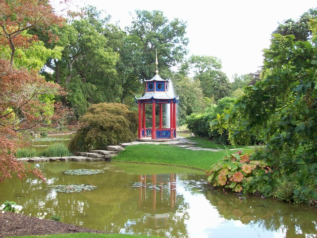The Pagoda in the Cliveden Water Garden
