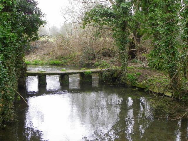 Clapper bridge, Bishopstone