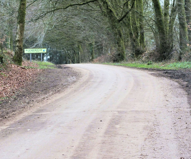 Entering Blackborough