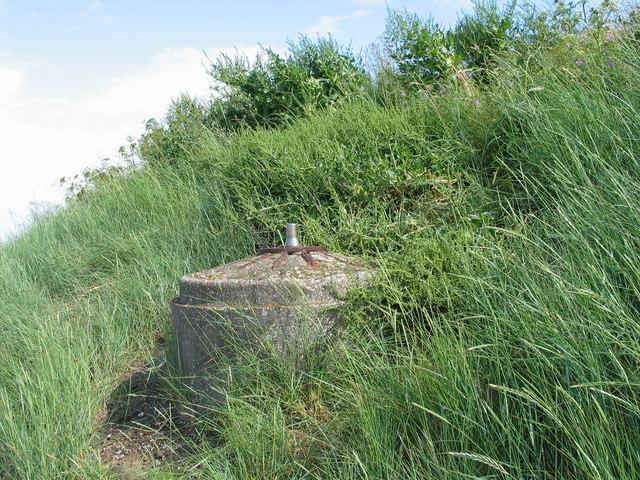 Spigot Mortar Base, Burnham Overy Staithe, Norfolk.