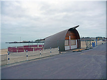 SY6879 : Weymouth - Beach Cafe by Chris Talbot