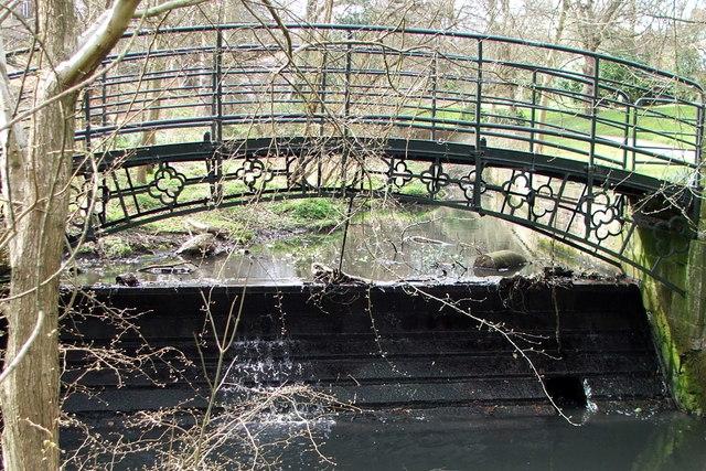 Decorative Iron Bridge