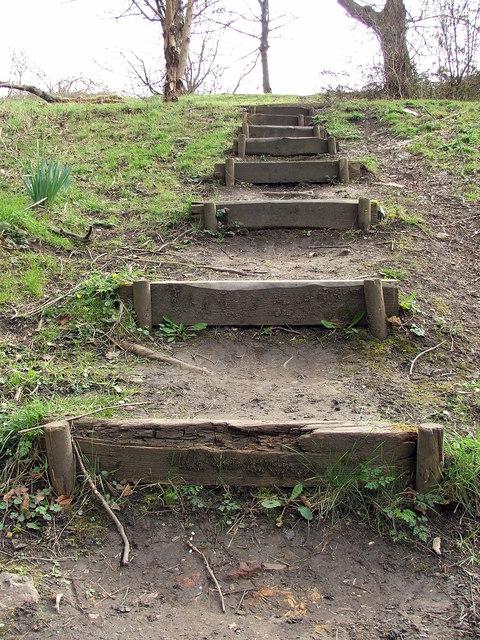 Steps from Wallsend Dene