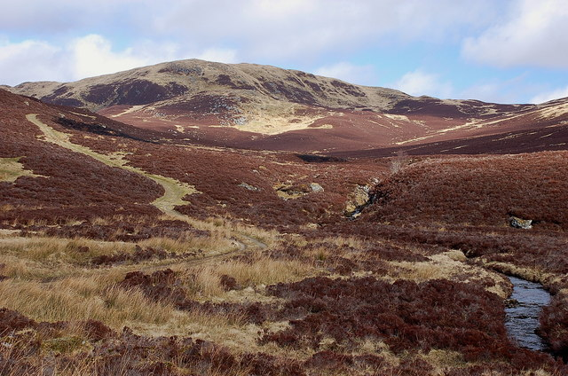The Cateran Trail and Creag an Dubh Shluic
