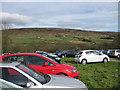 SE6795 : Temporary car park, Low Mill by Pauline E