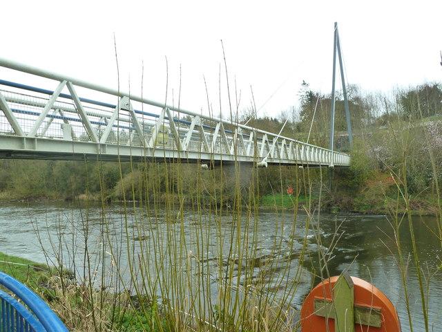 Footbridge over the River Boyne at Newgrange
