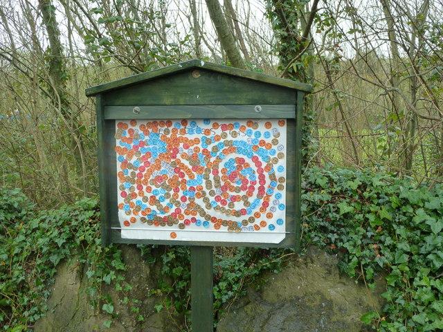 Notice board at Newgrange Visitor Centre