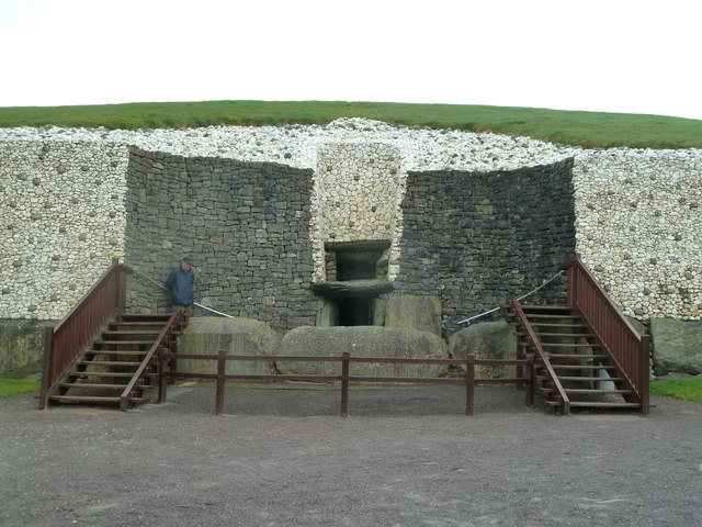 Entrance to the Newgrange Passage Tomb