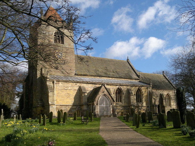 Church of the Ascension, Whixley