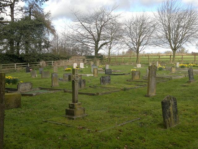 New churchyard, Whixley