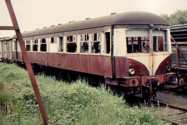 Nir Scrap Railcar  Mullingar  U00a9 Albert Bridge Cc 2 0