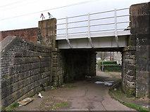 NS3174 : Chapel Lane railway bridge by Thomas Nugent