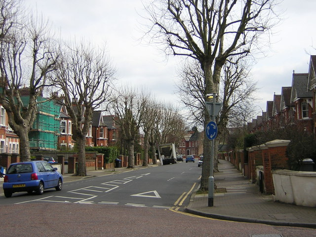 Walm Lane, on the borders of Cricklewood and Willesden Green