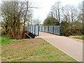 ST2990 : Footbridge over Malpas Brook, Bettws, Newport by Jaggery