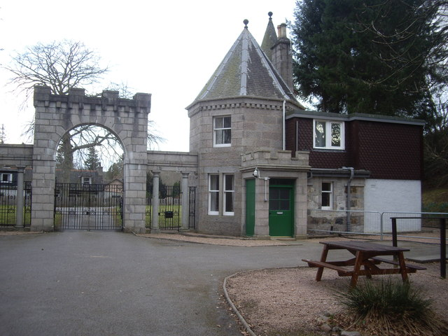 Gateway of the Blackhall Estate