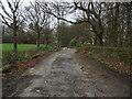 SD7114 : Private road, public footpath by Philip Platt