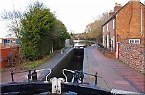SO8554 : Blockhouse Lock (No. 4), Worcester & Birmingham Canal, Worcester by P L Chadwick