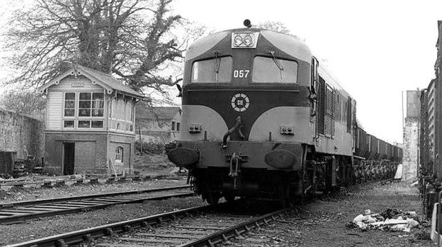 Gypsum train, Navan