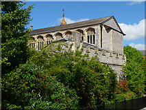 SU3521 : Romsey - Abbey United Reformed Church by Chris Talbot