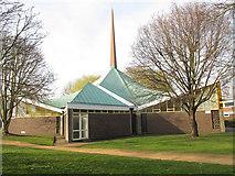TQ1672 : St Richard's church, Ham by Stephen Craven