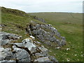 SK1280 : Small limestone outcrop, Eldon Hill by Andrew Hill