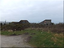 SW9462 : Abandoned mine buildings south of Castle-an-Dinas by David Smith