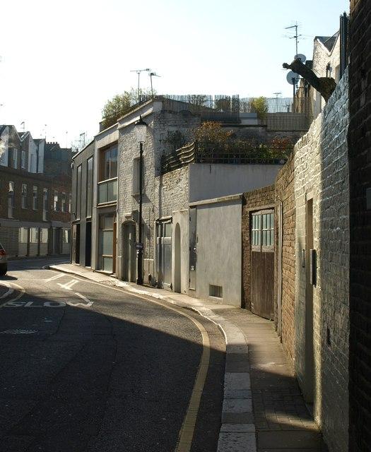 Pottery Lane, Notting Hill