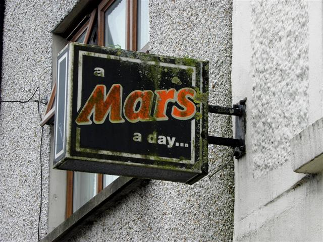 Mars sign, Ballygawley