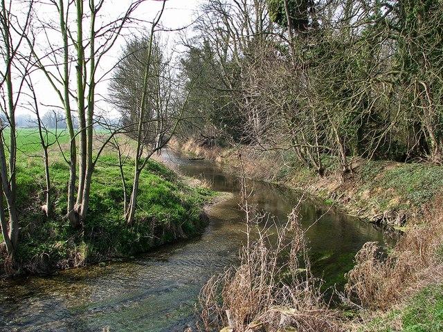 The River Cam (or Granta) near Sawston