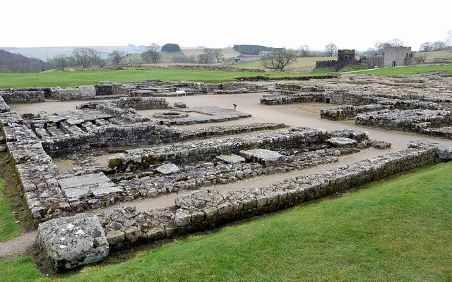Headquarters Building, Vindolanda Roman Fort