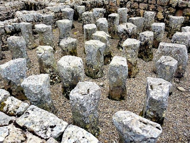 Hypocaust, Vindolanda praetorium
