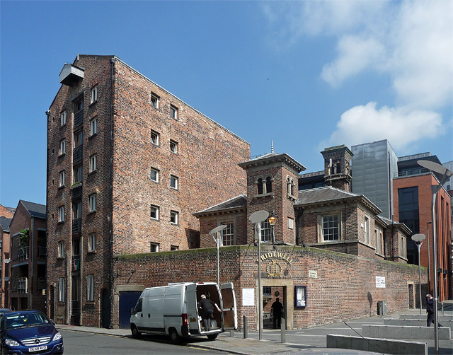 Warehouse and the former Bridewell, Argyle Street, Liverpool